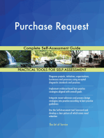 Purchase Request Complete Self-Assessment Guide