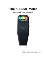 The K-II EMF Meter