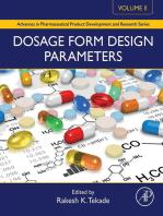 Dosage Form Design Parameters: Volume II