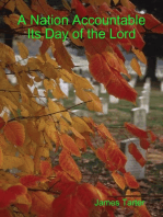A Nation Accountable Its Day of the Lord