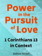 Power in the Pursuit of Love – 1 Corinthians 13 in Context