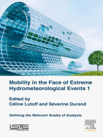 Mobility in the Face of Extreme Hydrometeorological Events 1: Defining the Relevant Scales of Analysis