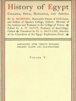 History of Egypt, Chaldea, Syria, Babylonia, and Assyria, Vol. 5