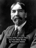 Theory of the Leisure Class and Two Other Books