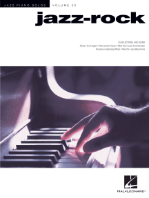 Jazz-Rock: Jazz Piano Solos Series Volume 53
