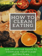 How to Clean Eating