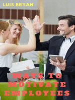 Ways to Motivate Employees
