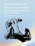So You Want To Start A Non Profit