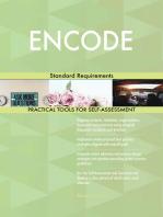 ENCODE Standard Requirements