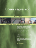 Linear regression Third Edition
