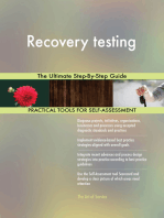 Recovery testing The Ultimate Step-By-Step Guide