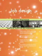 Job design Standard Requirements