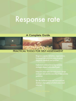 Response rate A Complete Guide