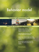 Behavior model Complete Self-Assessment Guide