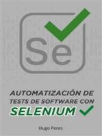 Automatización de Tests de Software Con Selenium