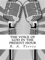 The Voice of God in the Present Hour