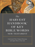 The Harvest Handbook™ of Key Bible Words New Testament