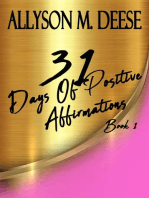 31 Days Of Positive Affirmations