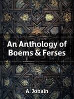 An Anthology of Boems & Ferses