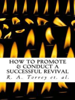 How to Promote & Conduct a Successful Revival