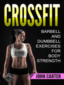 CrossFit: Barbell and Dumbbell Exercises for Body Strength