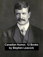 Canadian Humor, 12 Books