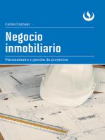 Negocio inmobiliario: Planeamiento y gestión proyectos