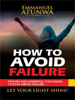 How To Avoid Failure