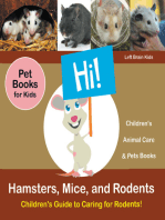 Hamsters, Mice, and Rodents