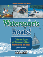 Watersports Boats! Different Types of Watersports Boats