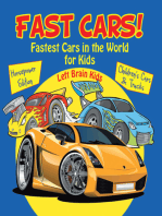 Fast Cars! Fastest Cars in the World for Kids