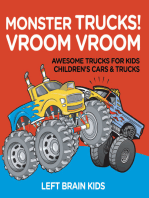 Monster Trucks! Vroom Vroom - Awesome Trucks for Kids - Children's Cars & Trucks