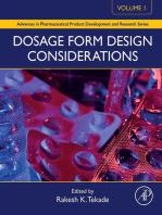 Dosage Form Design Considerations