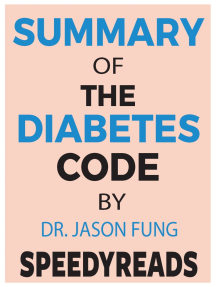 Summary of The Diabetes Code: Prevent and Reverse Type 2 Diabetes Naturally By Jason Fung