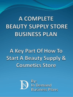 A Complete Beauty Supply Store Business Plan