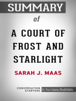 Summary of A Court of Frost and Starlight