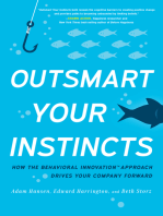 Outsmart Your Instincts: How The Behavioral Innovation™ Approach Drives Your Company Forward