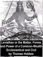 Leviathan, Or the Matter, Forme, and Power of a Common-Wealth Ecclesiastical and Civil