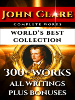 John Clare Complete Works – World's Best Collection
