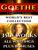 Goethe Complete Works – World's Best Collection