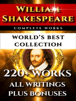 William Shakespeare Complete Works – World's Best Collection