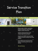 Service Transition Plan The Ultimate Step-By-Step Guide