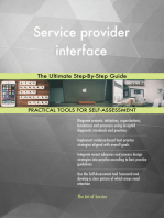 Service provider interface The Ultimate Step-By-Step Guide