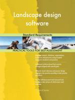 Landscape design software Standard Requirements