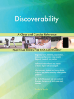 Discoverability A Clear and Concise Reference