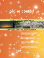 Noise control A Clear and Concise Reference