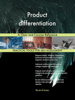Product differentiation A Clear and Concise Reference