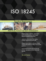 ISO 18245 Standard Requirements
