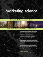 Marketing science Complete Self-Assessment Guide