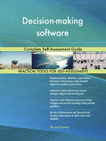 Decision-making software Complete Self-Assessment Guide